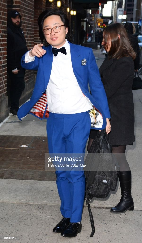 Jimmy O. Yang is seen on March 13, 2018 in New York City.