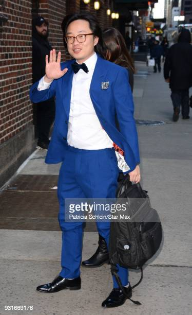 Jimmy O Yang is seen on March 13 2018 in New York City