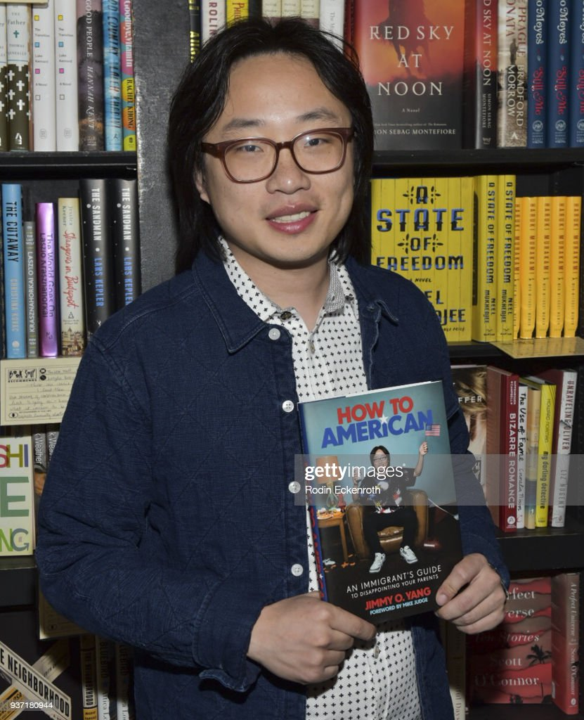"Jimmy O. Yang Signs Copies Of His New Book ""How To American"""
