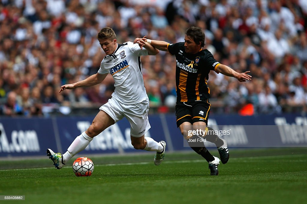 Hereford FC v Morpeth Town AFC - The FA Vase Final: The FA Non-Leagues Finals Day : News Photo