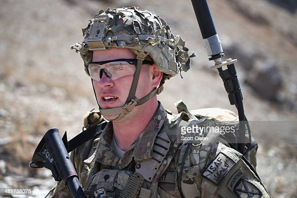 Jimmy Orrell from Claremore, Oklahoma with the U.S. Army's 2nd Battalion 87th Infantry Regiment, 3rd Brigade Combat Team, 10th Mountain Division...