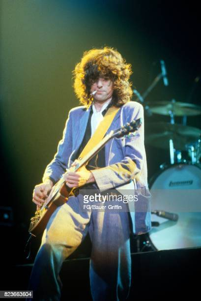 Jimmy Page of Led Zeppelin is seen at the Munich Olympiahalle The second drummer was Simon Kirke of Bad Company The band knew that John Bonham had a...
