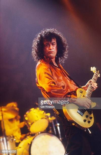 Jimmy Page Page and Plant Vorst Nationaal Brussels Belgium