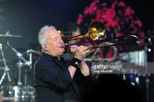 Jimmy Pankow of the classic rock band Chicago performs onstage at the 24th Annual InterContinental Miami MakeAWish® Ball at InterContinental hotel on...