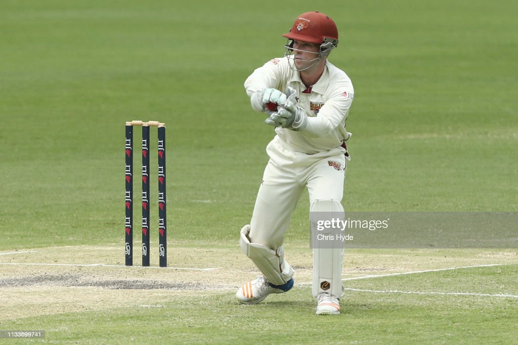 QLD v NSW - Sheffield Shield: Day 3 : News Photo