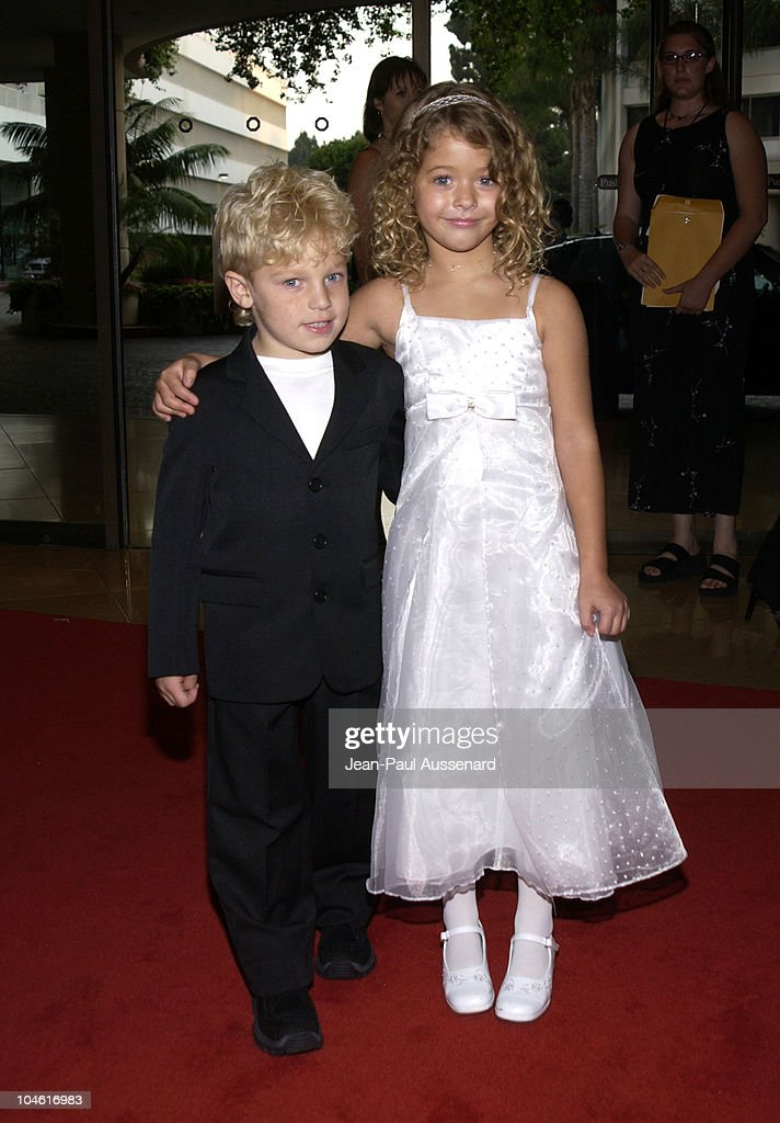 Jimmy Pinchak & Sasha Pieterse during The 4th Annual Family Television Awards - Press Room and Arrivals at Beverly Hilton Hotel in Beverly Hills, California, United States.