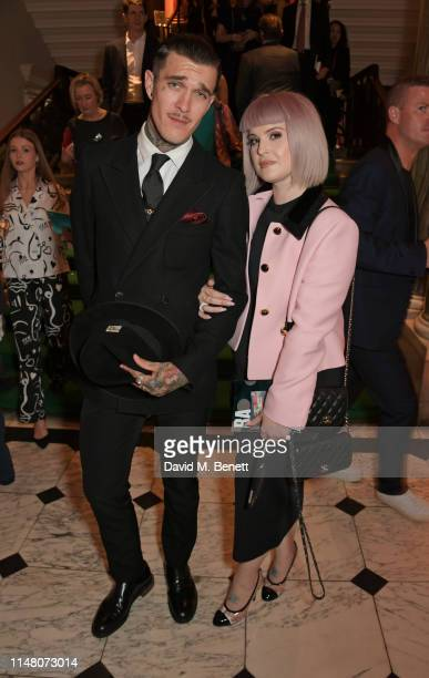 Jimmy Q and Kelly Osbourne attend The Royal Academy Of Arts Summer Exhibition preview party on June 4 2019 in London England