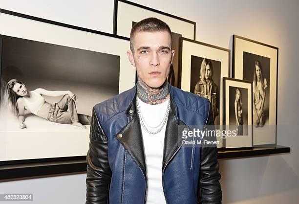 Jimmy Q attends the Calvin Klein Jeans x Mytheresacom party on July 17 2014 in London England