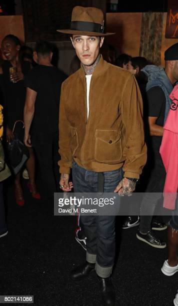 Jimmy Q attends the launch of Skepta's new fashion label 'Mains' at Selfridges on June 27 2017 in London England