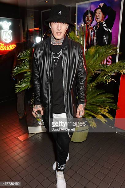 Jimmy Q attends the press night performance of 'Memphis The Musical' at The Floridita on October 23 2014 in London England