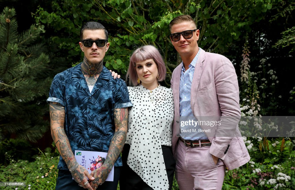 GBR: Celebrities Visit The Wedgwood Garden At The Chelsea Flower Show 2019
