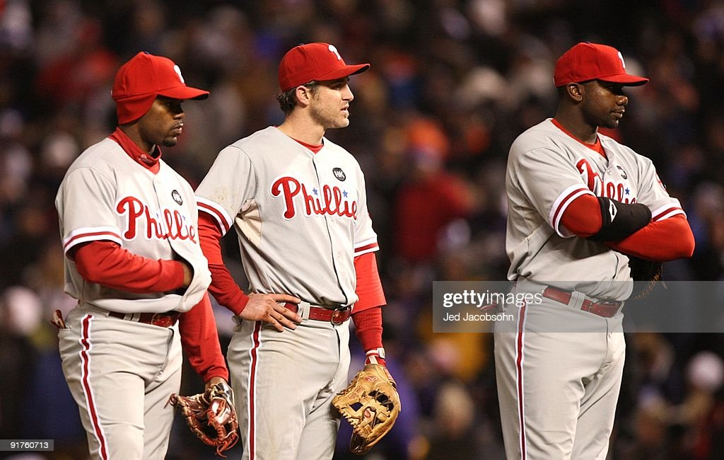 Philadelphia Phillies v Colorado Rockies, Game 3 : News Photo