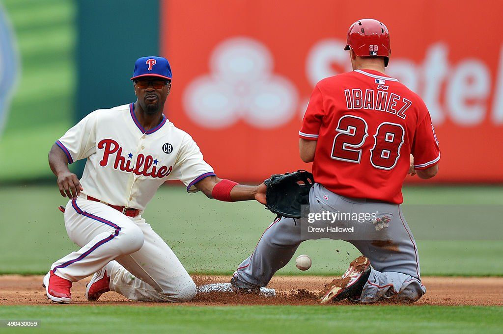 Los Angeles Angels of Anaheim v Philadelphia Phillies