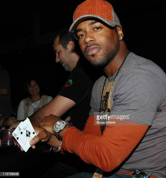 Jimmy Rollins Philadelphia Phillies during Cory Lidle Celebrity Poker Tournament to Benefit The MakeAWish Foundation at The Palms Hotel and Casino in...