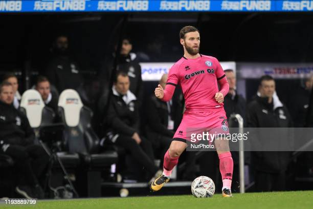 Jimmy Ryan of Rochdale during the FA Cup match between Newcastle United and Rochdale at St James's Park Newcastle on Tuesday 14th January 2020