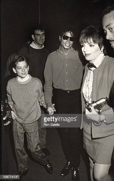Jimmy Safechuck Michael Jackson and Liza Minnelli