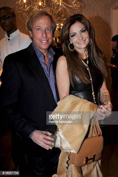 Jimmy Smit and Beth Shak attend BENEFIT COCKTAIL PARTY with ELLE MAGAZINE GUESS BY MARCIANO at Guess by Marciano on February 4 2010
