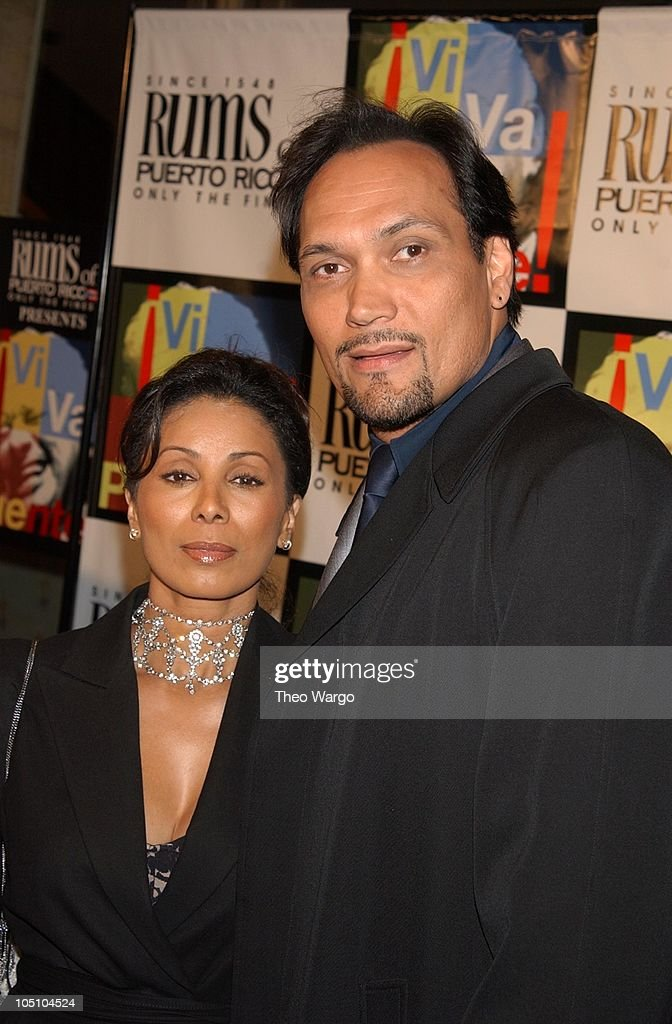 Jimmy Smits And Wanda De Jesus During Rums Of Puerto Rico Presents