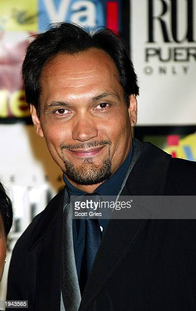 Jimmy Smits arrives at a benefit concert to honor the life legend and music of Tito Puente April 21 2003 at Avery Fisher Hall Lincoln Center in New...