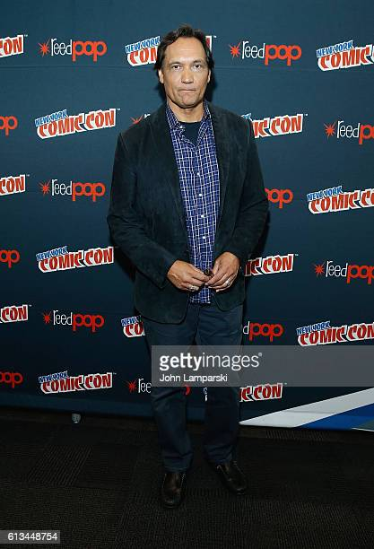 Jimmy Smits attends 24 Legacy press conference during the 2016 New York Comic Con day 3 on October 8 2016 in New York City