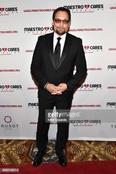 Jimmy Smits attends the Maestro Cares Foundation's fourth annual 'Changing Lives/Building Dreams' gala at Cipriani Wall Street on March 21 2017 in...