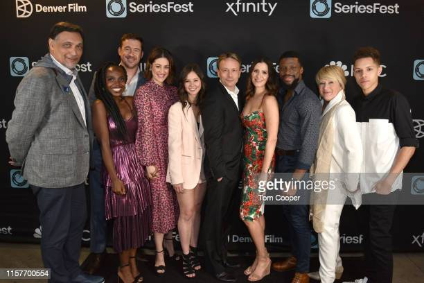 Jimmy Smits Barry Sloane MaameYaa Boafo Caitlin McGee Randi Kleiner CEO of Seriesfest Dean Georgaris Kaily Smith Westbrook CCO of Seriesfest Michael...