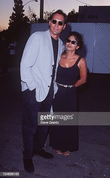 Jimmy Smits Wanda De Jesus during In Style What's Sexy Now Issue Party Charity Auction at Smashbox in Los Angeles California United States