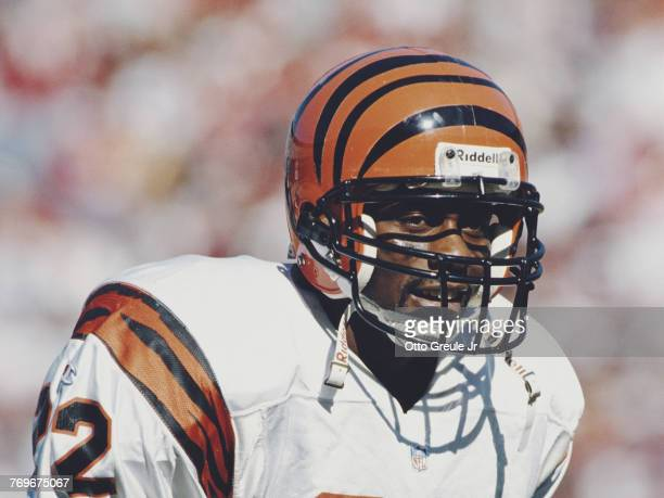 Jimmy SpencerDefensive Back for the Cincinnati Bengals during the National Football Conference West game against the San Francisco 49ers on 20...