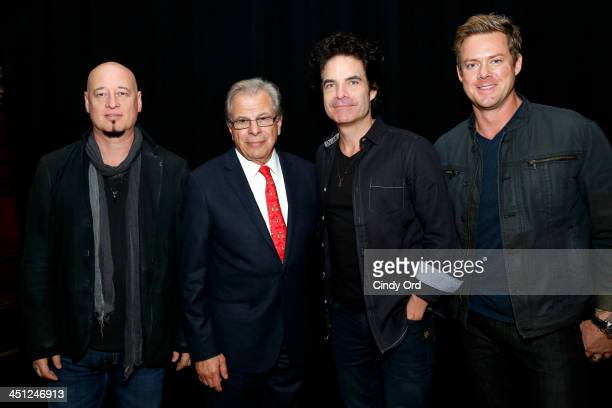 Jimmy Stafford Samuel Waxman Pat Monahan and Scott Underwood attend Collaborating For A Cure 16th annual benefit dinner and auction at Park Avenue...