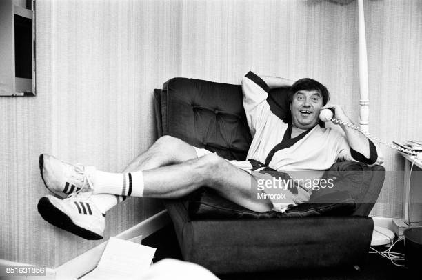 Jimmy Tarbuck at Bournemouth Winter Gardens where he is appearing in a Summer Show 13th July 1984