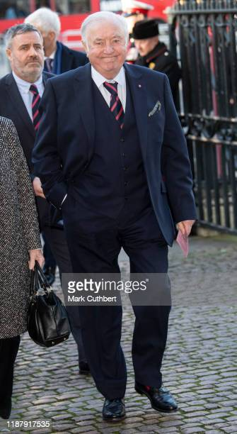 Jimmy Tarbuck attends a Service of Thanksgiving for the life and work of Sir Donald Gosling at Westminster Abbey on December 11 2019 in London England