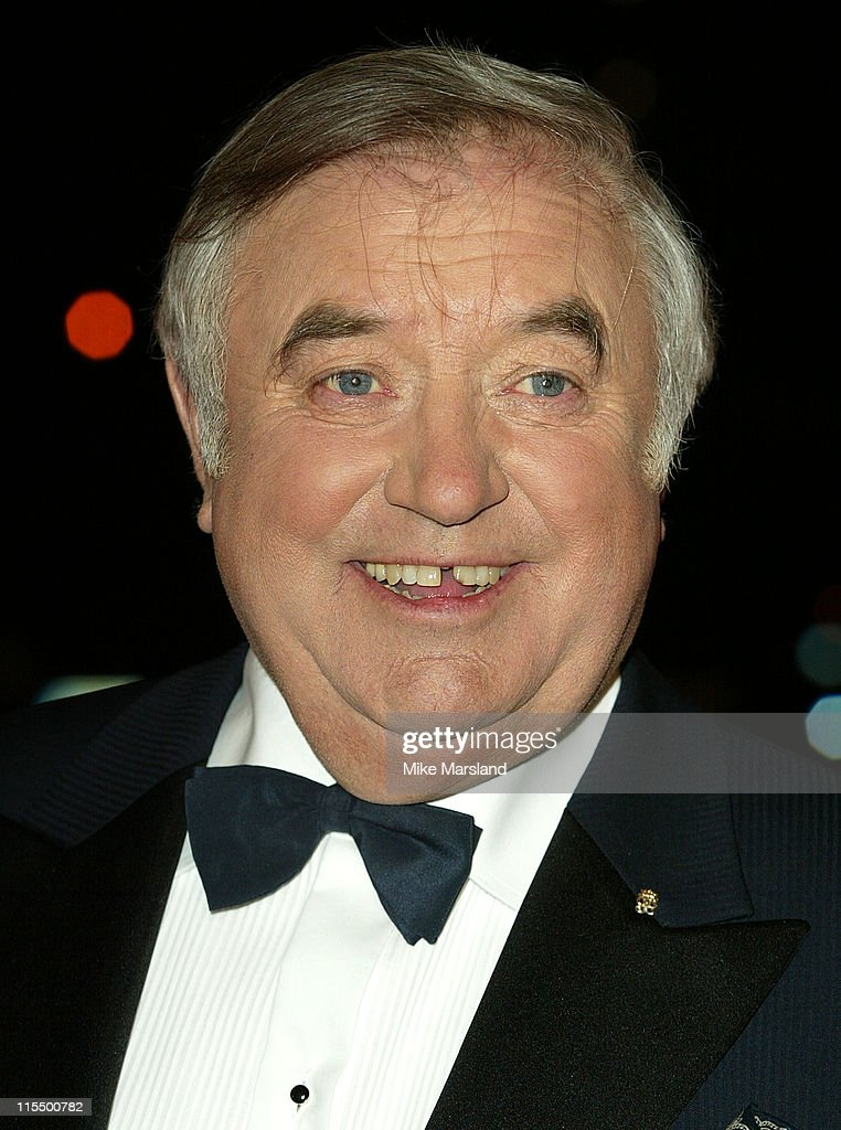 Jimmy Tarbuck during A BAFTA Tribute To Bob Monkhouse at BBC - White City in London, Great Britain.