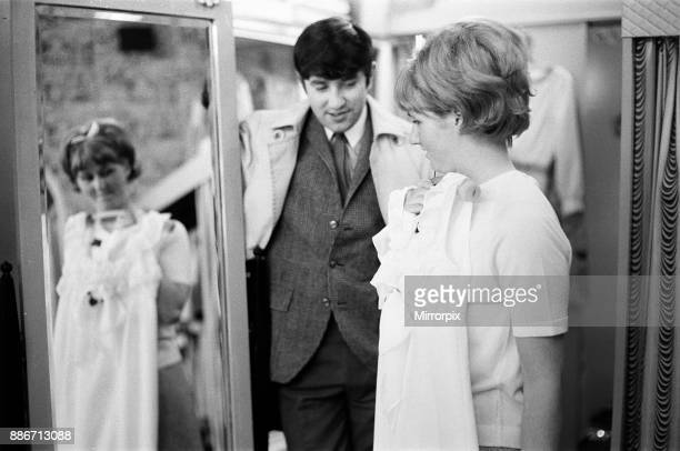 Jimmy Tarbuck in Great Yarmouth with his wife Pauline Jimmy didn't know for sure at 4pm if he was getting the Palladium job He went across the road...