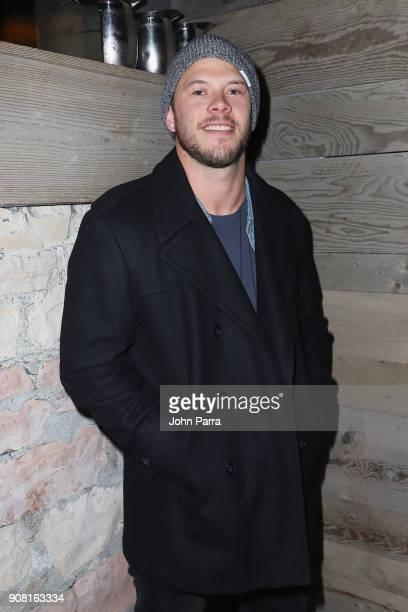 Jimmy Tatro attends CNN and The Hollywood Reporter's celebration of 5 Years of CNN Films at OP Rockwell on January 20 2018 in Park City Utah
