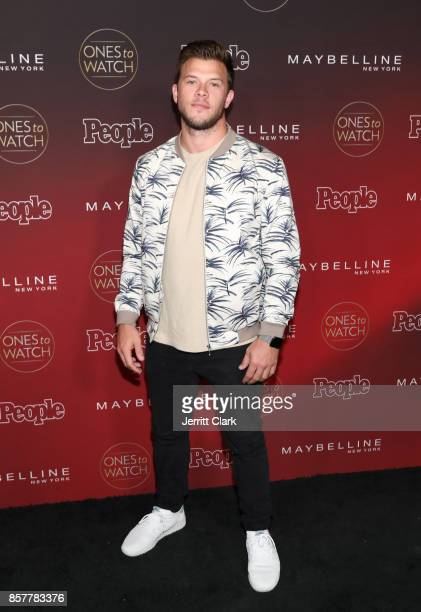 Jimmy Tatro attends People's Ones To Watch at NeueHouse Hollywood on October 4 2017 in Los Angeles California