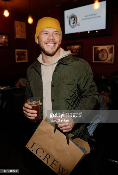 Jimmy Tatro attends Rock Reilly's daytime lounge presented by JCrew NYLON and Roku duirng Sundance Film Festival 2018 on January 19 2018 in Park City...