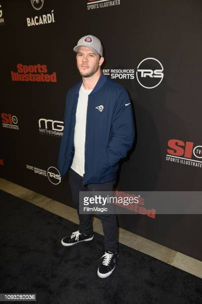 Jimmy Tatro attends Sports Illustrated Saturday Night Lights powered by Matthew Gavin Enterprises and Talent Resources Sports on February 2 2019 in...