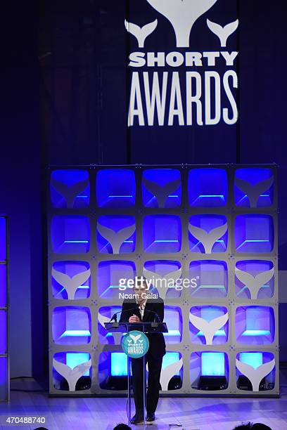 Jimmy Tatro speaks during the 7th Annual Shorty Awards on April 20 2015 in New York City