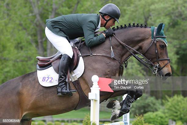Jimmy Torano USA riding Daydream in action during The $50000 Old Salem Farm Grand Prix presented by The Kincade Group at the Old Salem Farm Spring...