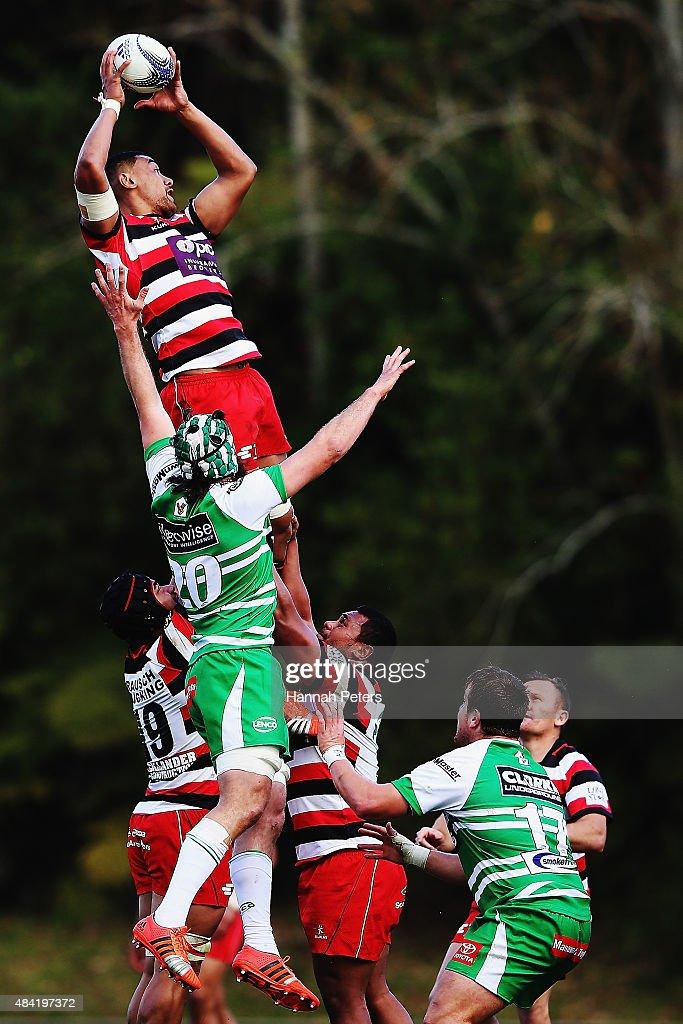 ITM Cup Rd 1 - Counties Manukau v Manawatu