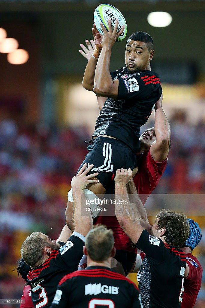 Super Rugby Rd 13 - Reds v Crusaders