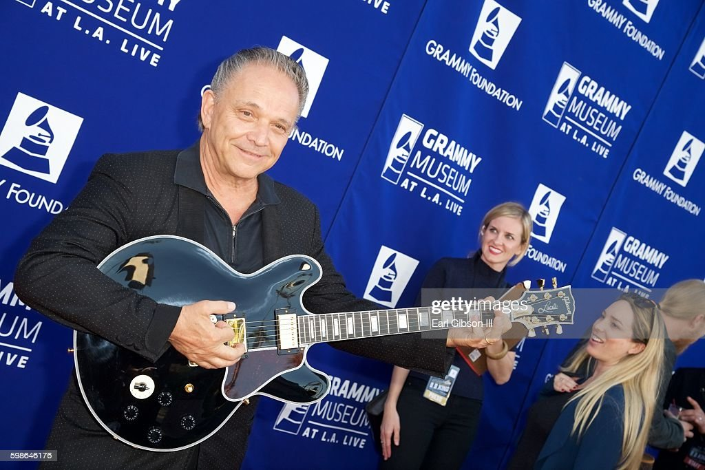 Jimmy Vaughan attends the GRAMMY Foundation's 'Icon: The Life And Legacy Of B.B. King at Wallis Annenberg Center for the Performing Arts on September 1, 2016 in Beverly Hills, California.