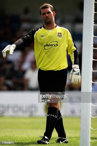 Jimmy Walker of West Ham United in action during the Pre Season Friendly Match between Gillingham and West Ham at Priestfield Stadium on July 29 2006...