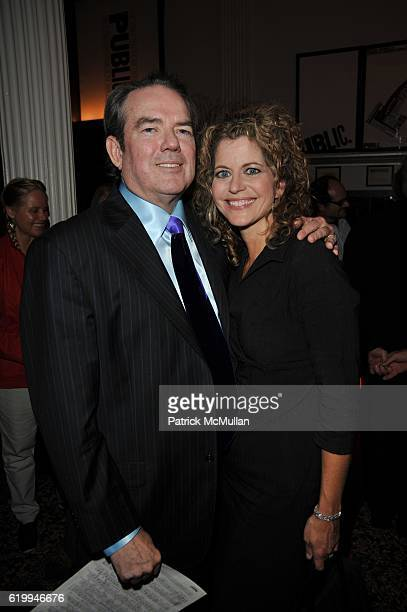 Jimmy Webb and Laura Savini attend PUBLIC THEATER 10th Anniversary at Public Theater NYC on October 10 2008