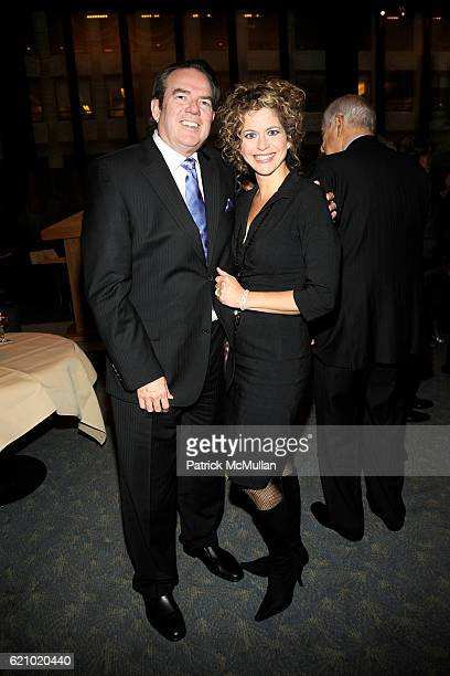 Jimmy Webb and Laura Savini Webb attend PARADE Magazine and THE DOUBLEDAY BROADWAY Publishing Celebrate SENATOR JIM WEBB's New Publication A Time To...