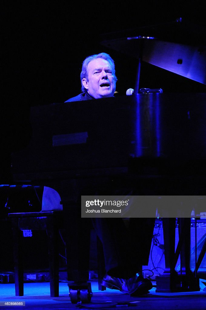 Jimmy Webb performs at 'When Rock and Blues Hit The Sunset Strip' 50th Anniversary Celebration with Johnny Rivers and Jimmy Webb at the Saban Theatre on January 15, 2014 in Beverly Hills, California.