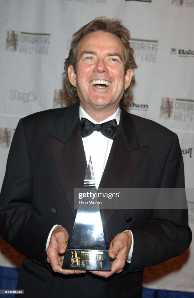 Jimmy Webb recipient of the Johnny Mercer Award during 34th Annual Songwriters Hall Of Fame Awards - Pressroom at Marriott Marquis in New York City, New York, United States.