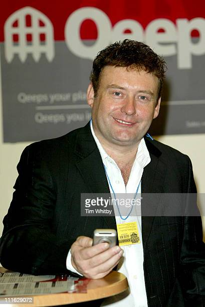 Jimmy White during Autumn 2005 Ideal Home Show Home Huggers Photocall at Earl's Court in London Great Britain