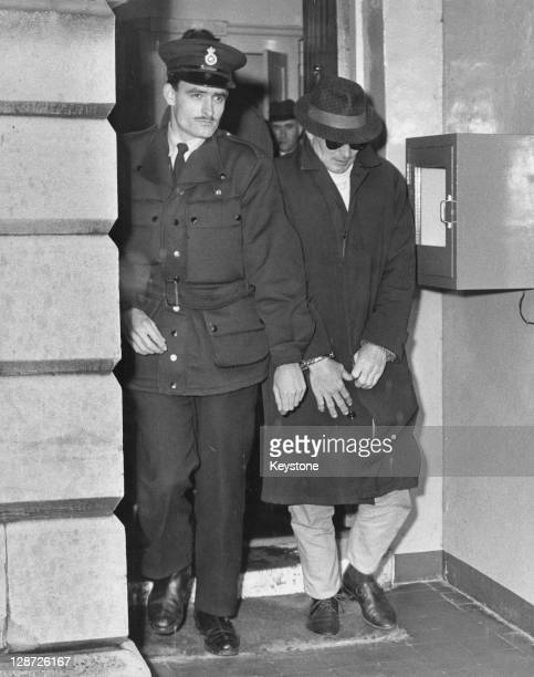 Jimmy White makes his first court appearance at Linslade Bedfordshire after his arrest for his part in the Great Train Robbery 22nd April 1966 White...