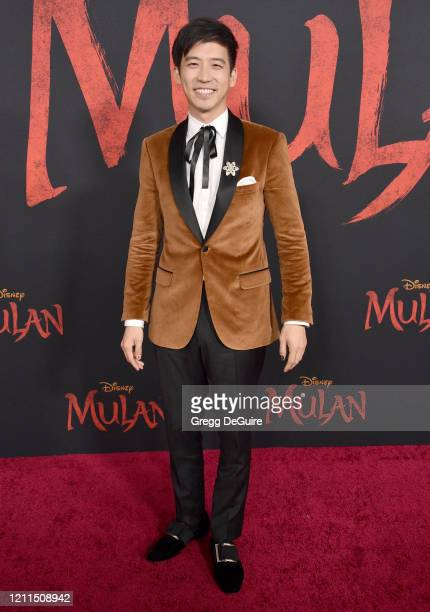 Jimmy Wong attends the Premiere Of Disney's Mulan on March 09 2020 in Hollywood California
